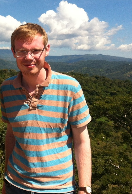 Matthew Sanderson on a recent trip visiting CAFOD projects in El Salvador