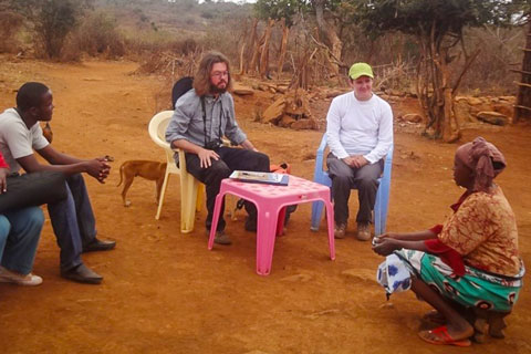 CAFOD staff from the UK visited the project and interviewed some of the community.