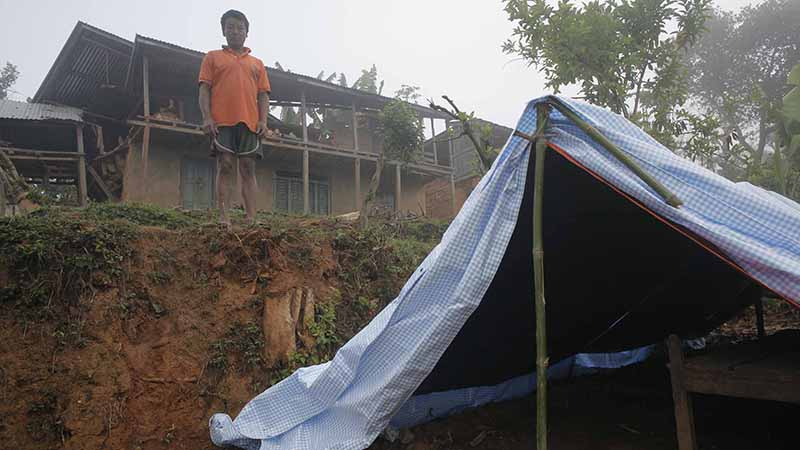 A tent in Nepal