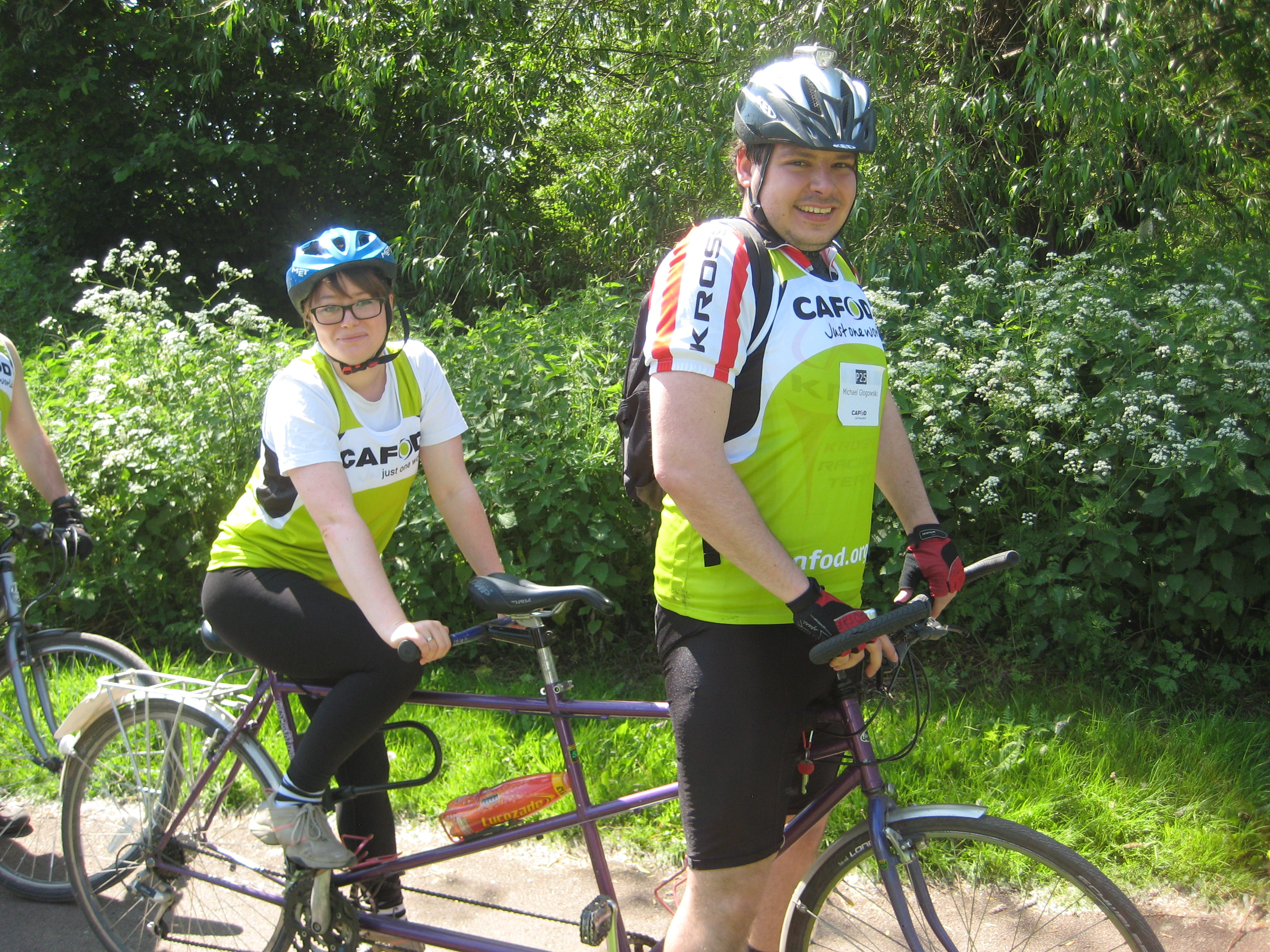 Pedal Against Poverty - Eleanor Heans-Glogowska and Michal Glogowski