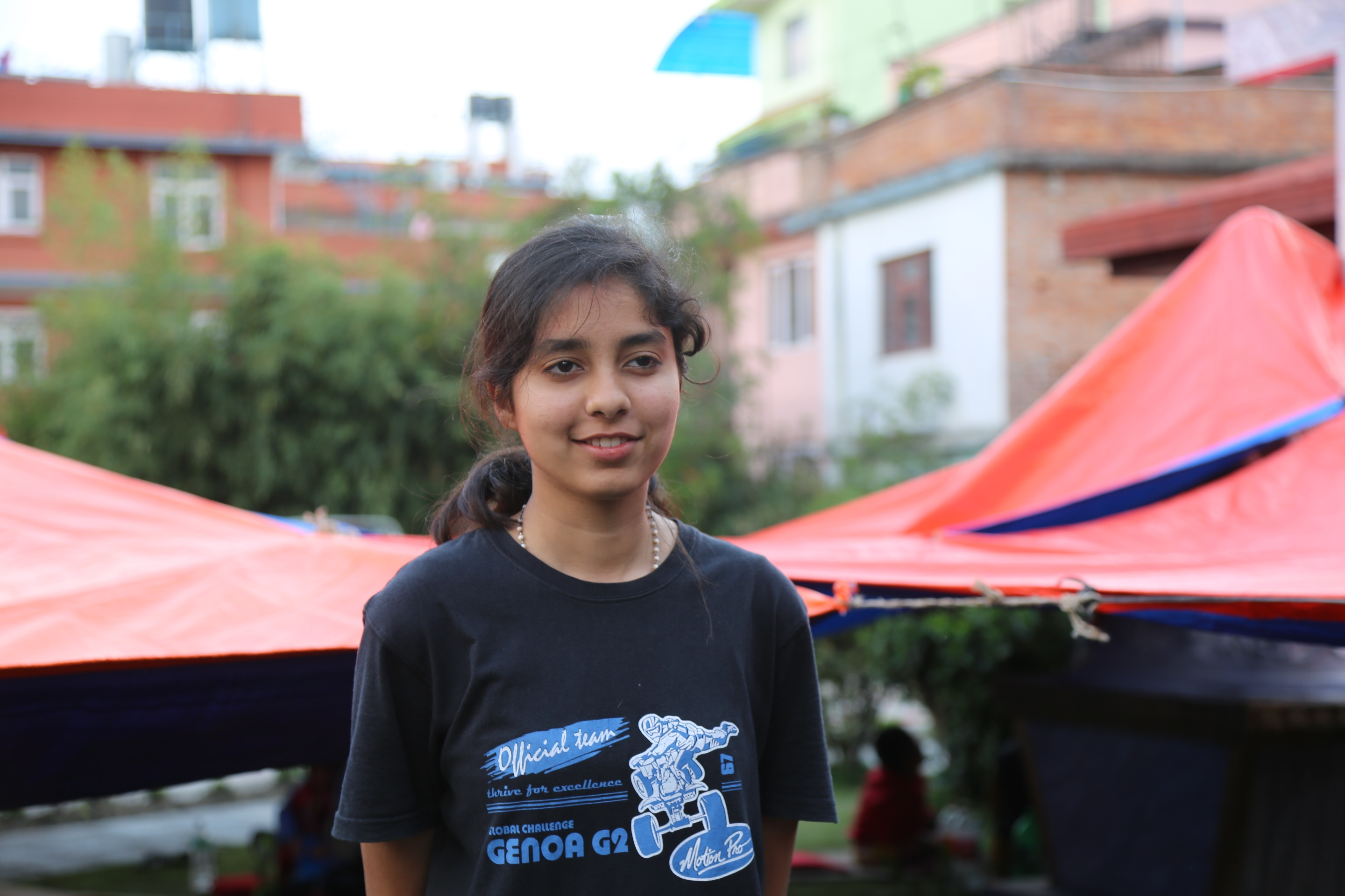 Qurnain, 15 years old - Nepal earthquake survivor
