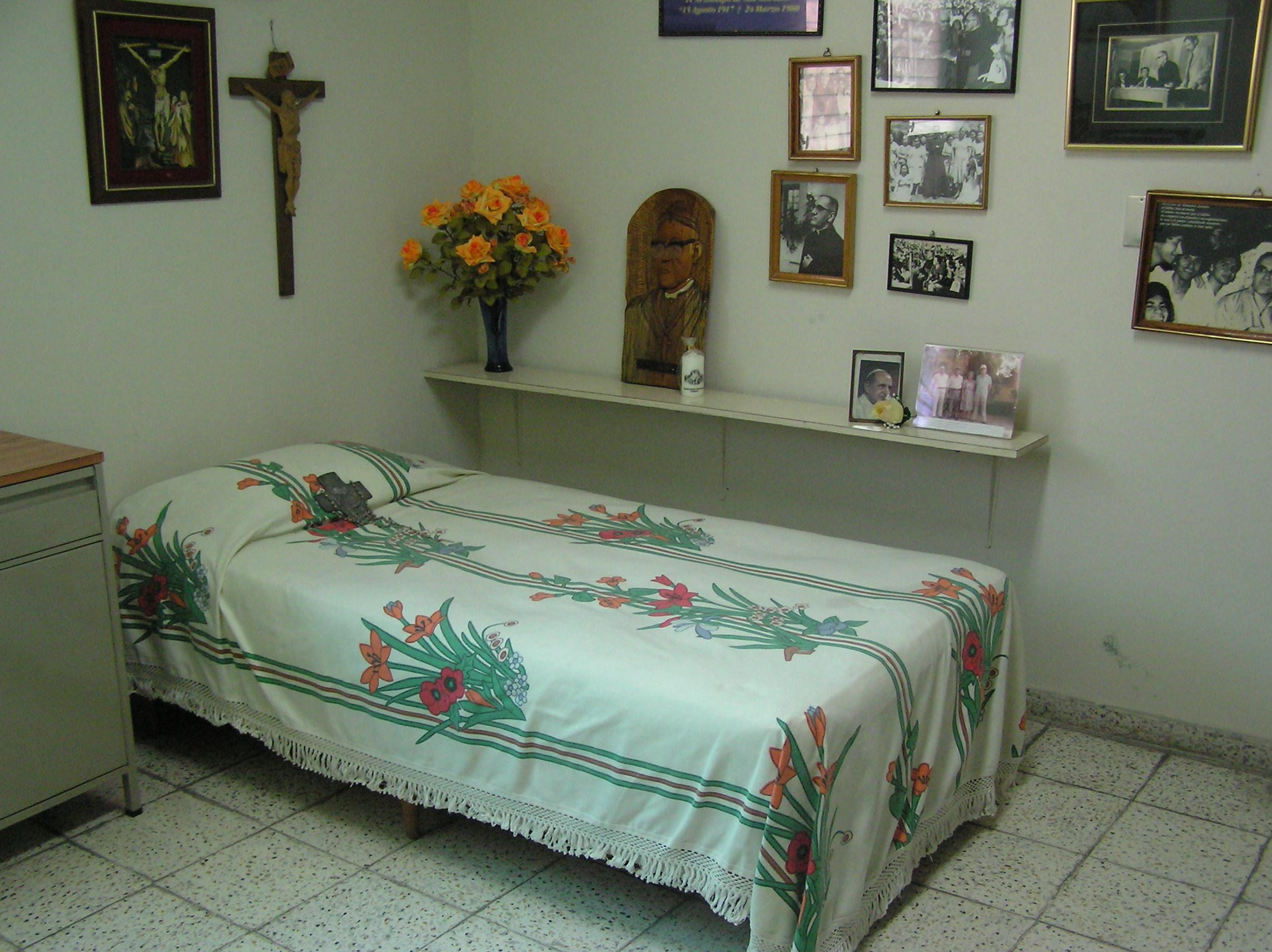 Oscar Romero's room