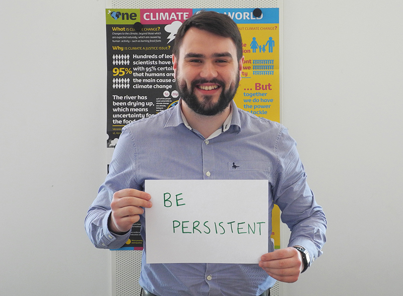 It's OK to be persistent
