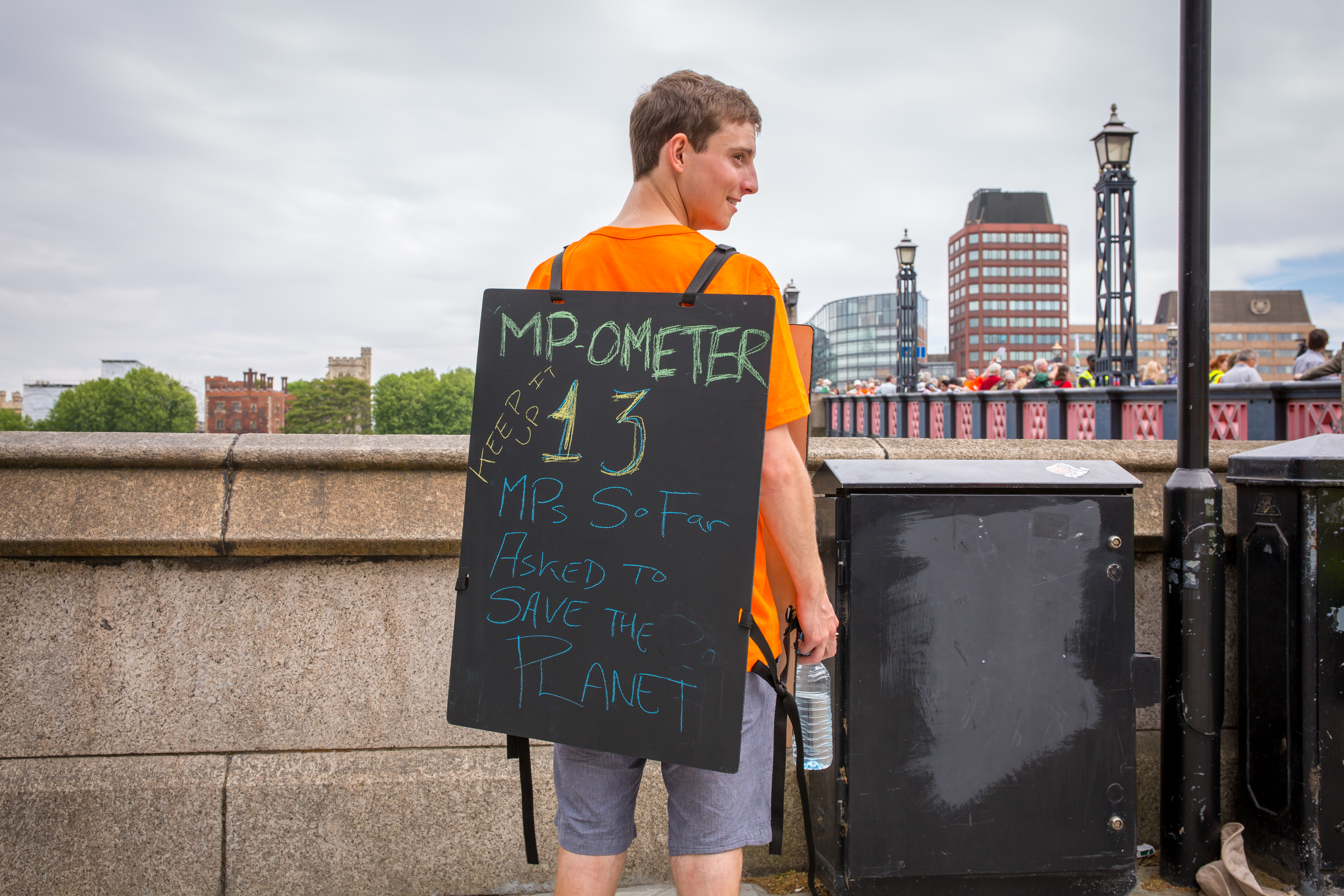 MP-o-meter at climate lobby of parliament - CAFOD