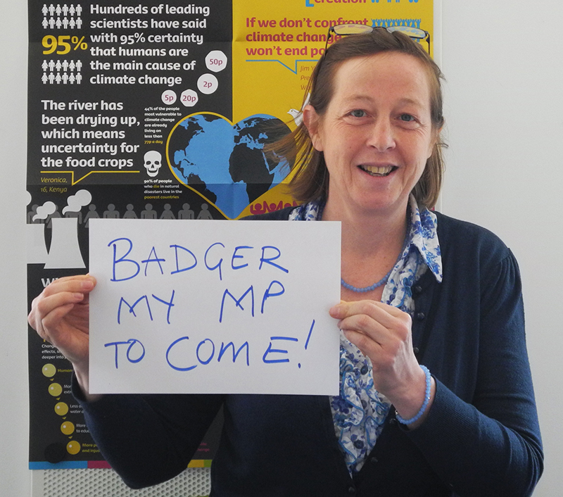 Badger my MP