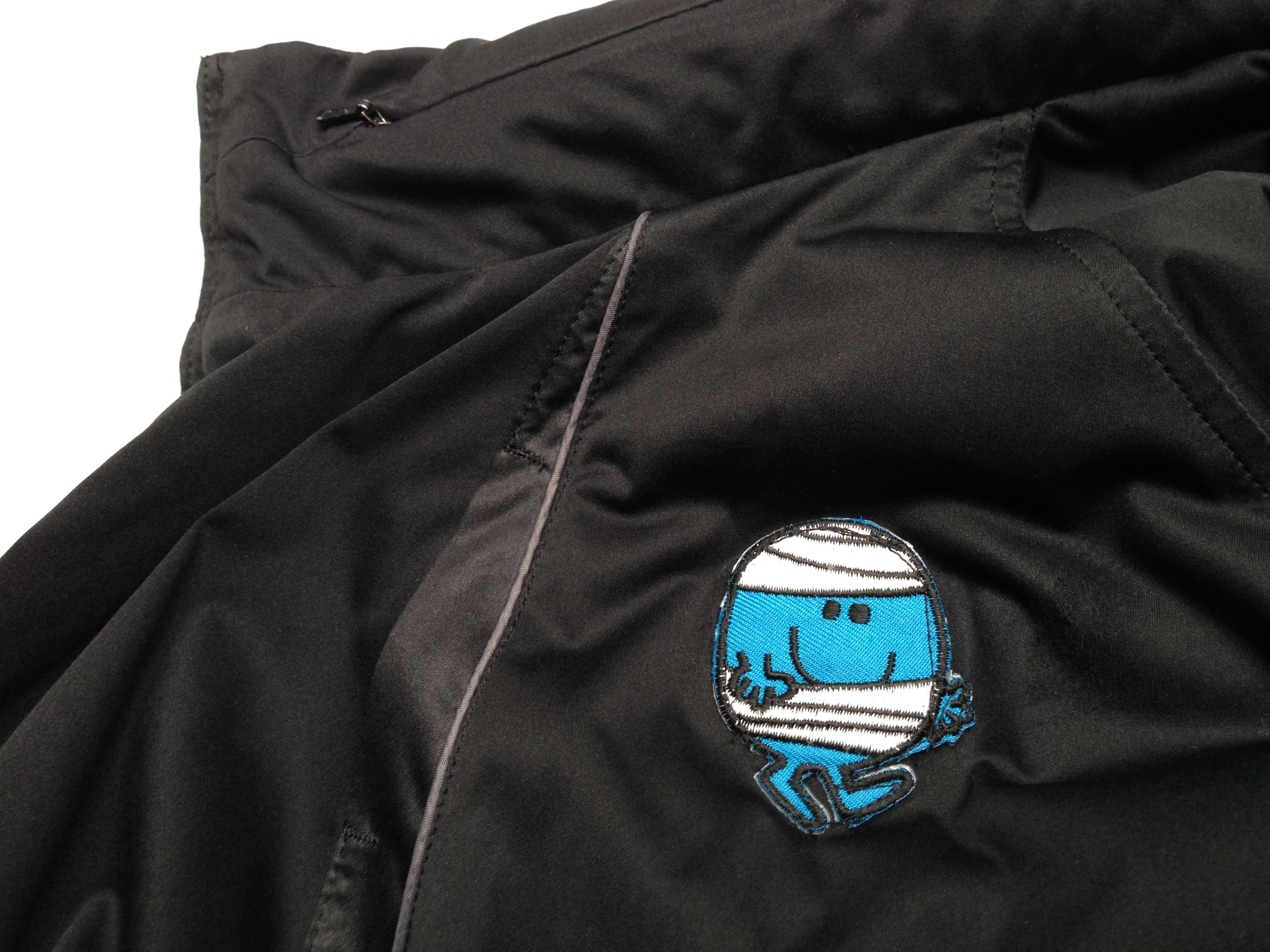 Ivan's repaired jacket