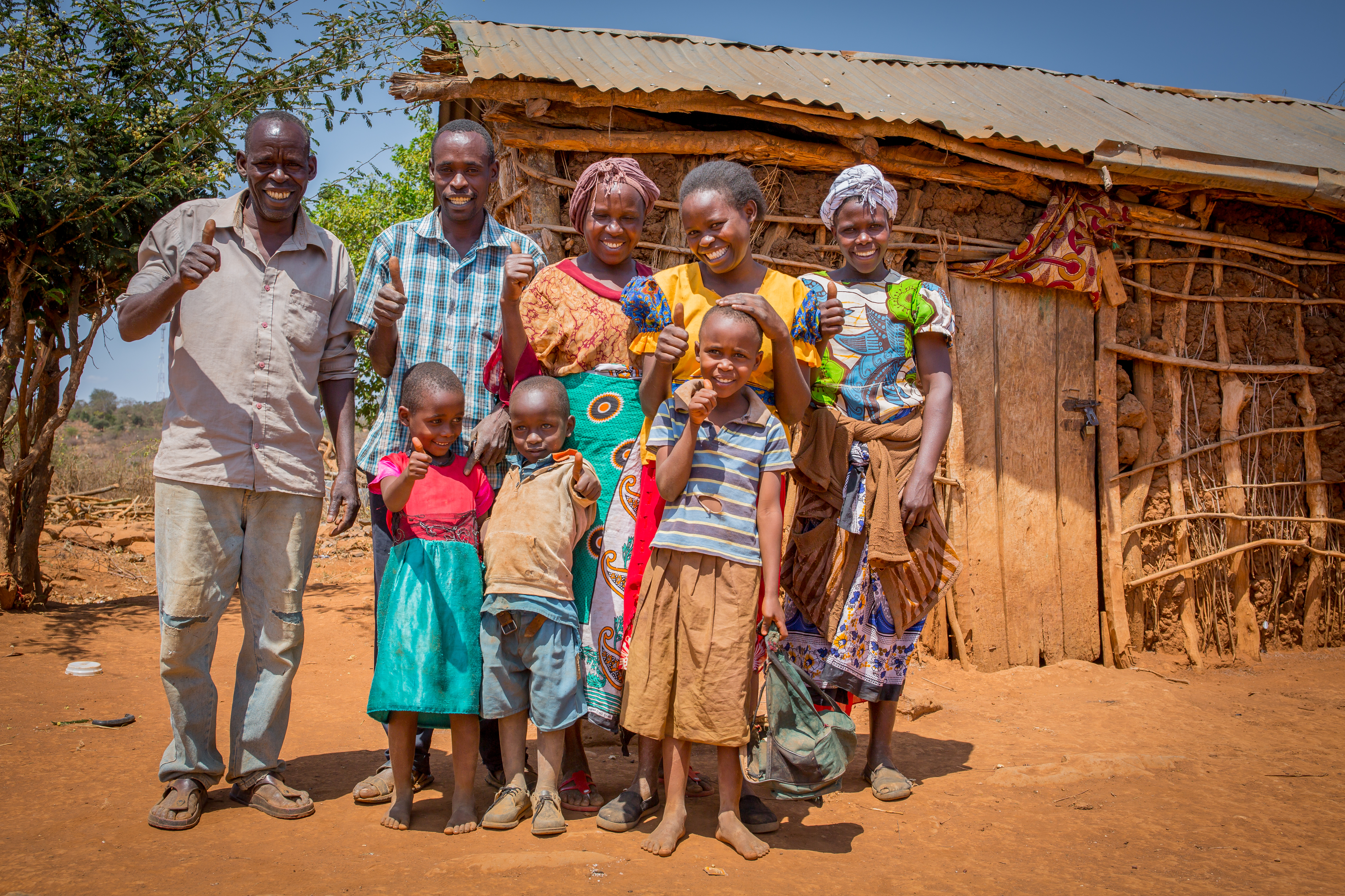 Stella and her family - Kitui, Kenya - CAFOD
