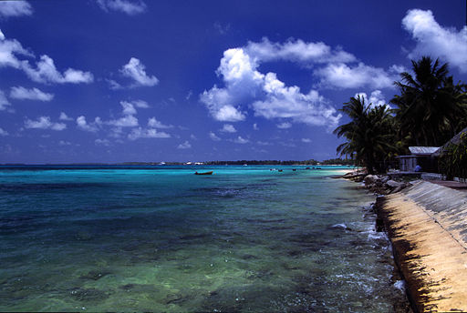 Beautiful Tuvalu is at great risk from the effects of climate change. Photo by Stefan Lins.