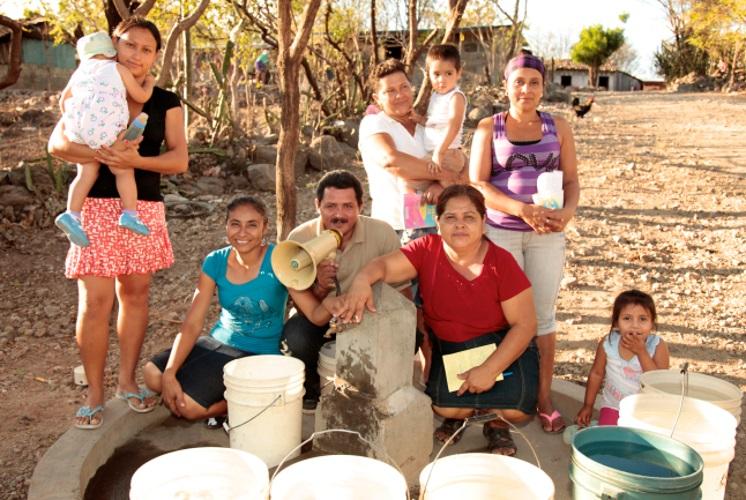 Members of the community in Cerro Pando, Nicaragua