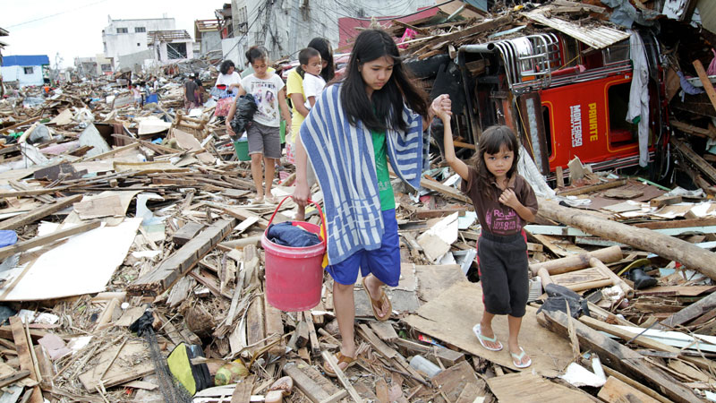 Philippines---typhoon-damag