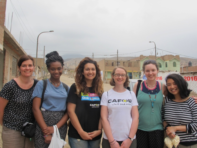 The Step into the Gap team in Peru