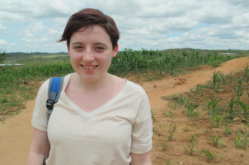 Joanna is seeing the effects of climate change in Zimbabwe