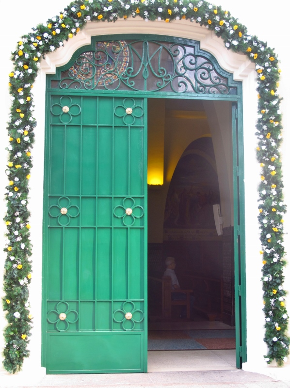 Holy Door of Mercy at Our Lady of Fatima in Lima