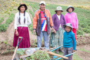 Our latest project is in Bolivia, where Nicanora and her community will learn how to improve their land