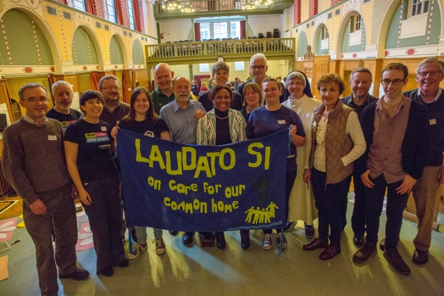 CAFOD supporters at a study day focused on Laudato Si'