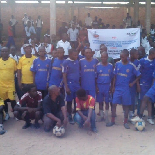 Sport for Peace, DRC.