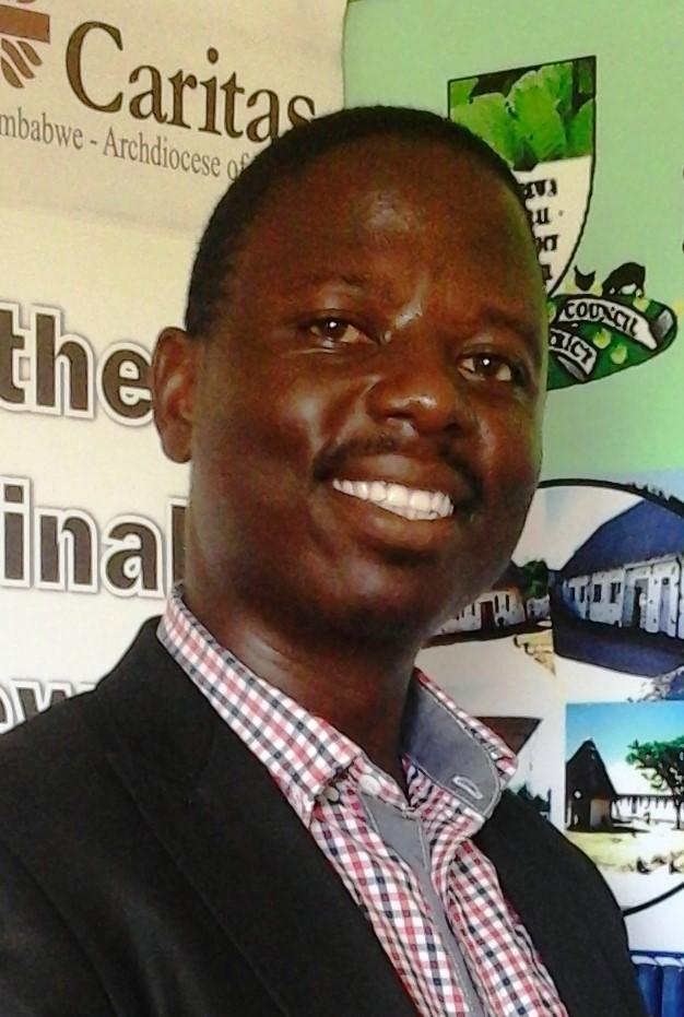 Takura Gwatinyanya from CAFOD partner Caritas Harare in Zimbabwe