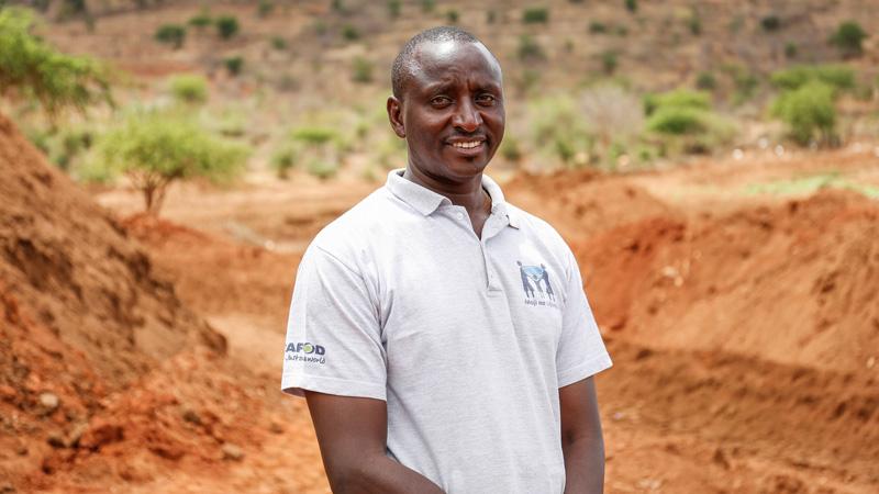 George Wambugu, CAFOD's water specialist