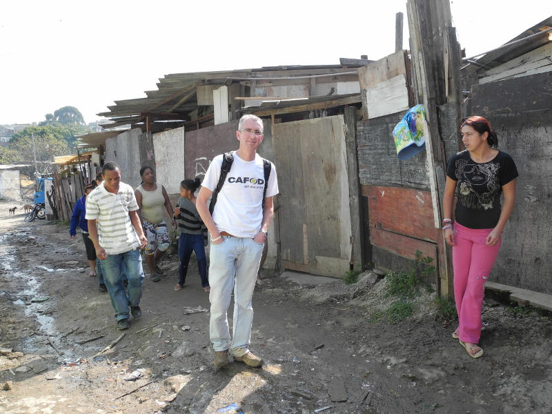 Tony Sheen visited Tony Sheen visited Elecropaulo favela in São Paulo, Brazil, where he saw the Church in action