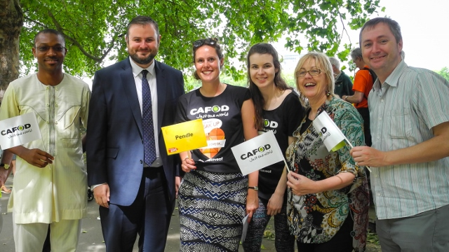 CAFOD supporters lobbied Andrew Stephenson MP on climate change