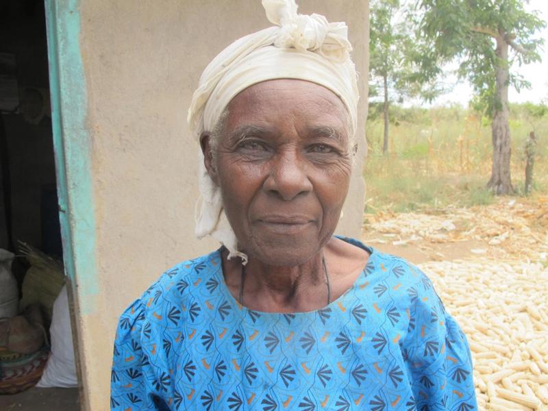CAFOD partner Philomena, 96