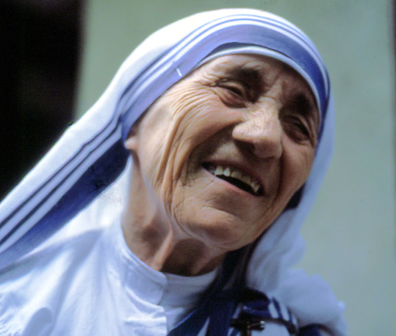 Blessed Mother Teresa of Calcutta. Photo credit: Manfredo Ferrari