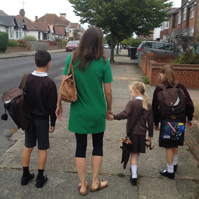 CAFOD children going back to school