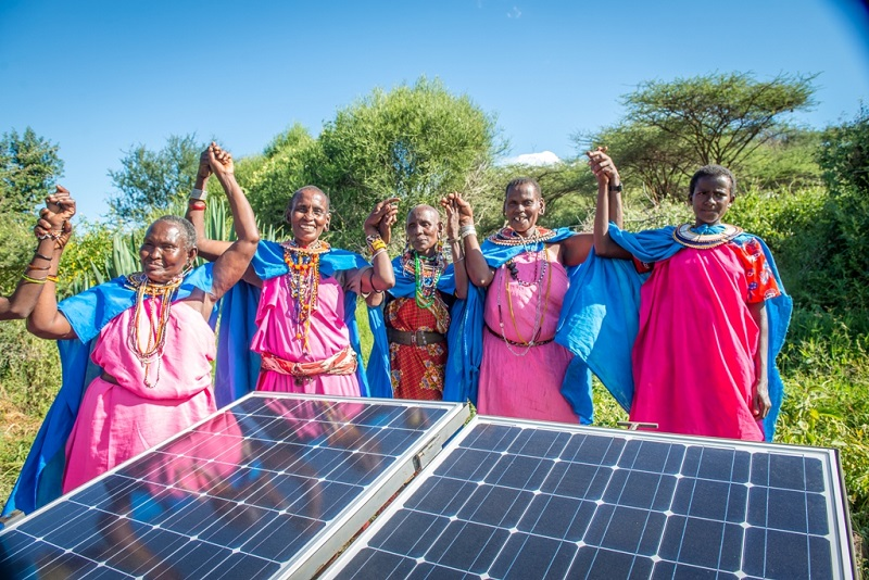 Solar power is helping communities in Kenya to escape poverty