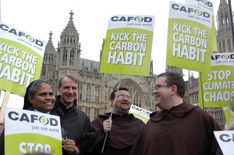 Members of religious orders call on governments to kick the carbon habit