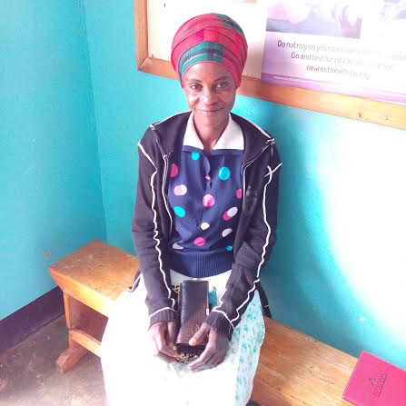 Nalwadda Nuluyati receives HIV support from CAFOD partner Kitovu Mobile in Uganda