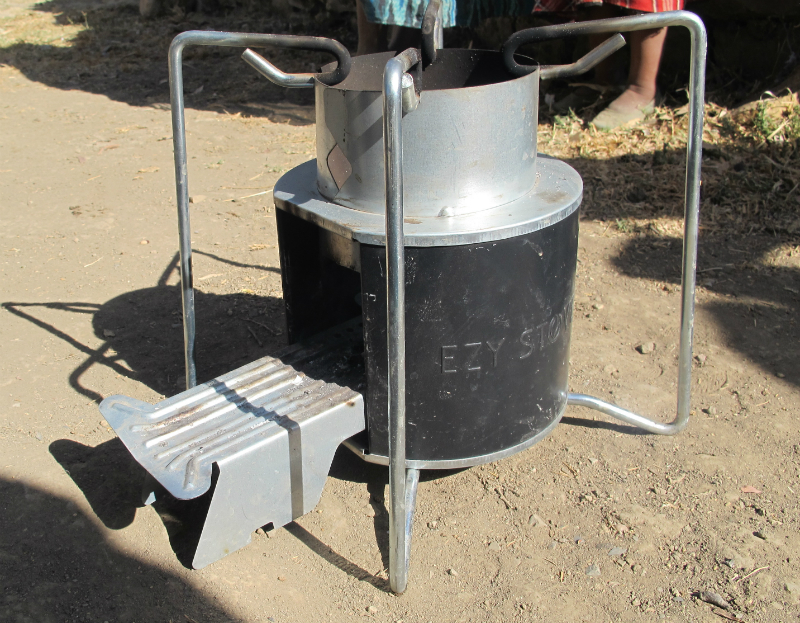 An Ezy stove.