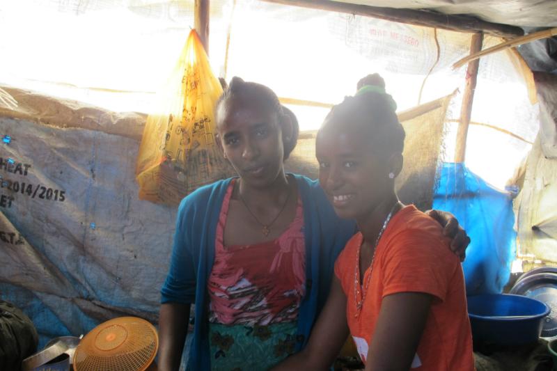 Lemlem and her little sister
