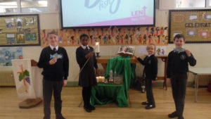 CAFOD fish assembly
