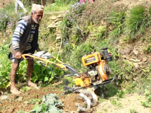 Bhawanatha Paudel is being helped by CAFOD to make a good living two years on from the Nepal earthquake.