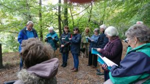 Week of action event, reflecting on Laudato Si', CAFOD