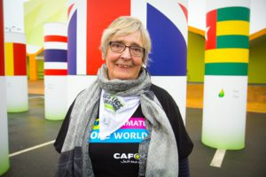 Jane organised a Climate Coalition week of action event for CAFOD