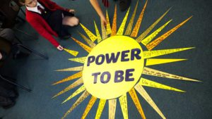 St Anthony's take part in the Power to be campaign