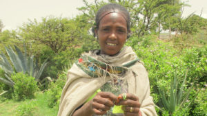 Hidat from Ethiopia can now feed her children