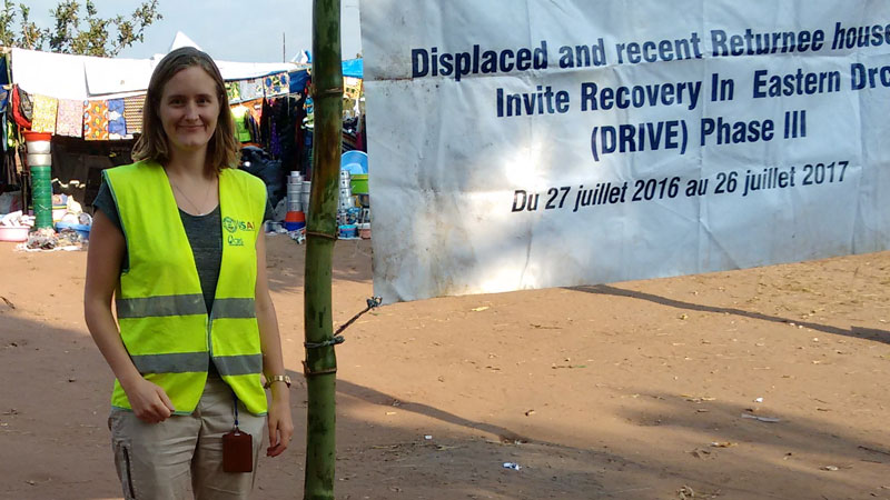 Working in emergencies: meet Zoë, our Emergency Support Officer