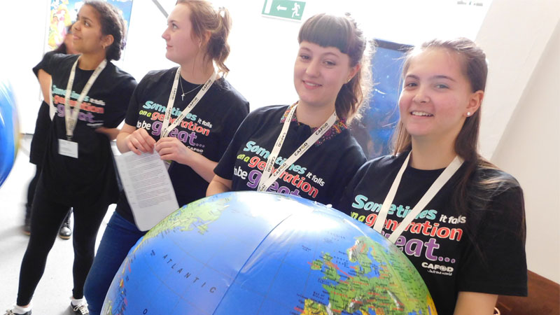 Back to school: Volunteering with CAFOD