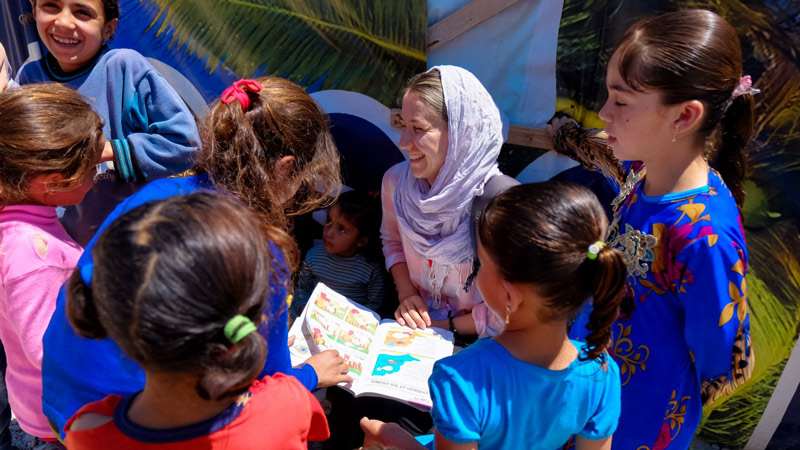 World Humanitarian Day – a day with Syrian refugees