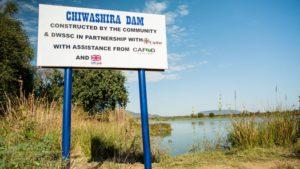 Chiwashira Dam in Zimbabwe