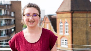 Siobhan is a Step into the Gap volunteer, on placement at Newman University