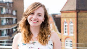 Sophie is on teh Step into the Gap programme based at Leeds Trinity University