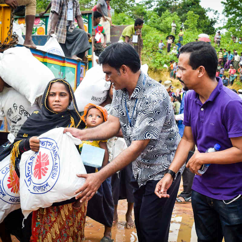 Rohingya Crisis Appeal: Working together our aid response gives back dignity