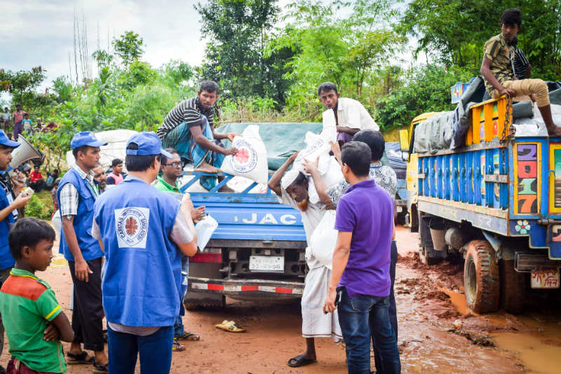 Rohingya Crisis Appeal: Caritas volunteers join relief efforts
