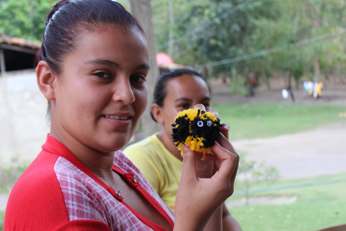Bee keepers in Nicaragua
