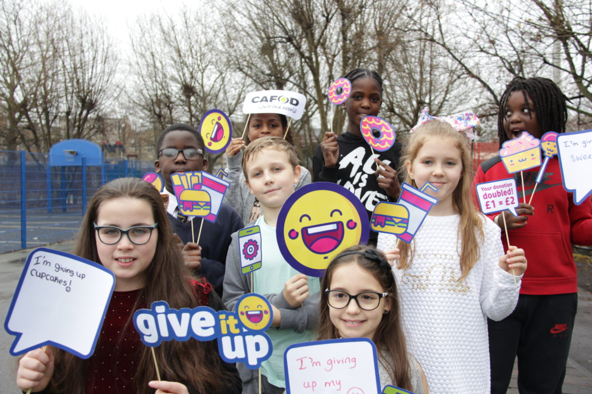 Give it up: visiting schools this Lent