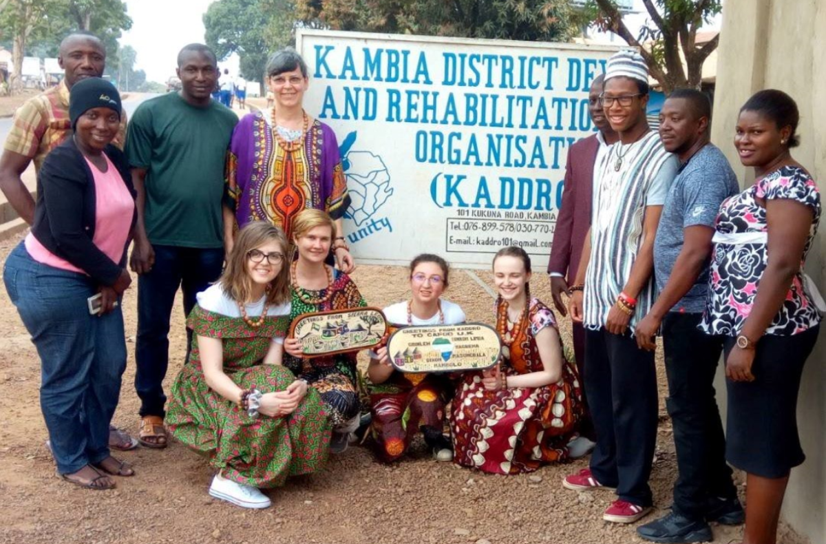 Step into the Gap: An inspiring week in Kambia