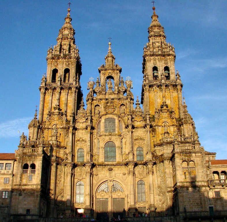 Catholic Cathedral of Santiago, where the pilgrimage ends
